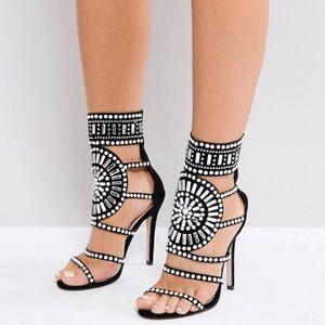 Shoes - Cleopatra Embellished Heels